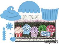 Набор лезвий Marianne Design Creatables - Cupcakes