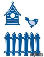 Набор лезвий Marianne Design Creatable - Fence, Bird & House