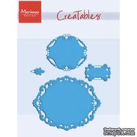 Лезвие Marianne Design Creatables Dies - Large Oval Set of 4 by Petra