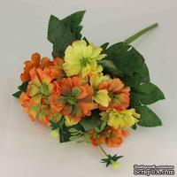 Букет желто-оранжевые цветов