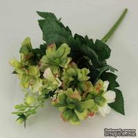 Букет зелено-белых цветов