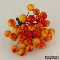 Ягоды калины желто-красные, 12 мм