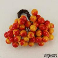 Ягоды калины желто-красные, 8 мм