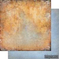 Лист двусторонней бумаги для скрапбукинга Медовый пунш 004, дизайн Елены Виноградовой, 30х30см, 200г/м