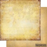 Лист двусторонней бумаги для скрапбукинга Медовый пунш 006, дизайн Елены Виноградовой, 30х30см, 200г/м