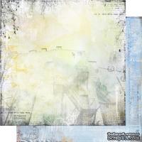 """Лист двусторонней скрапбумаги """"Городская симфония"""" -LV002, дизайн Елены Виноградовой, размер: 30х30 см"""
