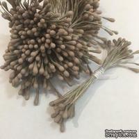Тычинки, цвет бежевый, диаметр 1.5 мм, 50 шт.