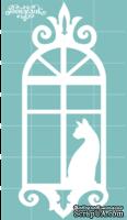 Чипборд от Вензелик - Окно 01n, размер: 28x69 мм