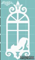 Чипборд от Вензелик - Окно 02n, размер: 28x69 мм