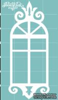Чипборд от Вензелик - Окно 03n, размер: 28x69 мм