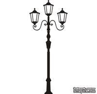 Акриловый штамп Lviv Lantern 4 Фонарь, размер 3,3 * 7,9 см