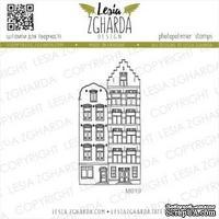 Акриловый штамп Lesia Zgharda Будинки Амстердам M019