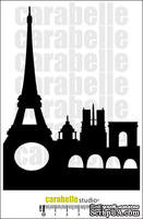 "Маска ""Франция, Париж, Эйфелева башня -  Masque : France, Paris, Tour Eiffel - Carabelle Studio"