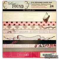 Набор двусторонней скрапбумаги My Mind's Eye - Lost & Found Madison Avenue, размер 15х15 см, 24 листа