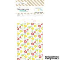 Конвертик Webster's Pages - Bulk Bags Floral: White, размер 10х7 см, 1 шт.