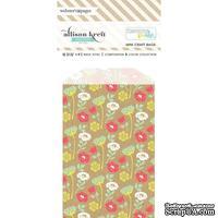 Конвертик Webster's Pages - Bulk Bags Floral: Kraft, размер 10х7 см, 1 шт.