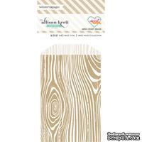 Конвертик Webster's Pages - Bulk Bags Wood: Kraft, размер 10х7 см, 1 шт.