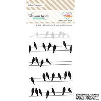 Конвертик Webster's Pages - Bulk Bags Birds: Black&White, размер 10х7 см, 1 шт.