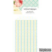 Конвертик Webster's Pages - Bulk Mini Bag Hearts: Yellow, размер 10х7 см, 1 шт.