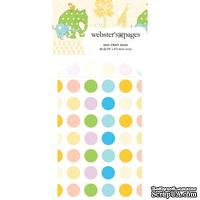 Конвертик Webster's Pages - Bulk Mini Bag Polka: Multi, размер 10х7 см, 1 шт. - ScrapUA.com