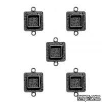 Металлические формы от Spellbinders Squares Two - Серебро, 1 шт.