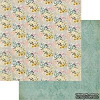 Лист скрапбумаги My Mind's Eye - Lucky Tapestry, 30х30 см, двусторонняя