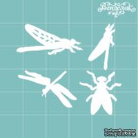 Чипборд от Вензелик - набор насекомых, размер: 45x39 мм