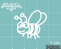 Чипборд от Вензелик - Пчела 03, размер: 26x24 мм