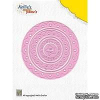 Лезвие Nellie Snellen Multi Frame Dies - Decorative Circle (set of 6) - ScrapUA.com