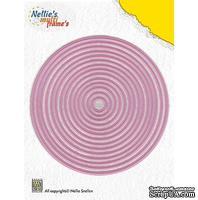 Лезвие Nellie Snellen Multi Frame Dies - Straight Round