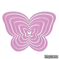 Набор лезвий Nellie Snellen - Multi Frame Cutting Die - Butterfly, 6 штук
