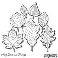 Лезвие My Favorite Things - Die-namics Falling Leaves