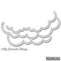 Лезвие My Favorite Things - Die-namics Stitched Cloud Edges - ScrapUA.com