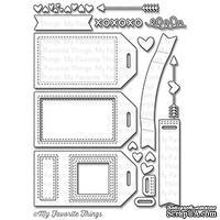Набор лезвий ножи My Favorite Things - Die-namics Tag Builder Blueprints 5, 18 шт.