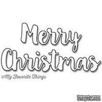 Лезвие нож My Favorite Things - Merry Christmas Die-namics - ScrapUA.com