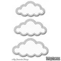 Лезвие My Favorite Things - Die-namics Stitched Clouds, 3 шт. - ScrapUA.com