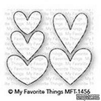 Лезвие My Favorite Things - Die-namics Lots of Hearts - ScrapUA.com