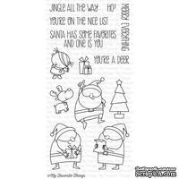 Акриловый штамп My Favorite Things - BB Jingle All the Way, 13 шт.