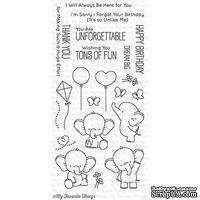 Акриловый штамп My Favorite Things - BB Adorable Elephants