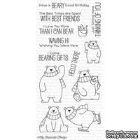 Акриловый штамп My Favorite Things - BB Polar Bear Pals, 13 шт.