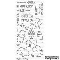 Акриловый штамп My Favorite Things - BB Happy Hippos