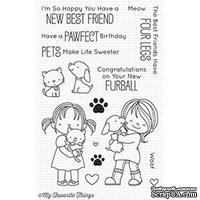 Акриловый штамп My Favorite Things - BB New Best Friend