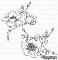 Резиновый штамп My Favorite Things - BG Magnolia Blossoms, 2 шт.