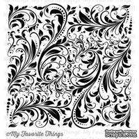 Резиновый штамп My Favorite Things - BG Garden Flourish Background