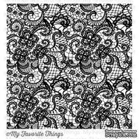Резиновый штамп My Favorite Things - BG Lace Background