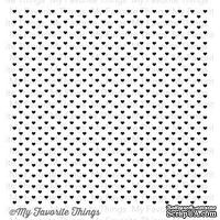 Резиновый штамп My Favorite Things - BG Mini Hearts Background