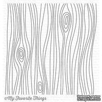 Резиновый штамп My Favorite Things - BG Whimsical Woodgrain Background