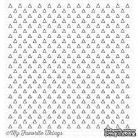Резиновый штамп My Favorite Things - BG Transparent Triangles Background