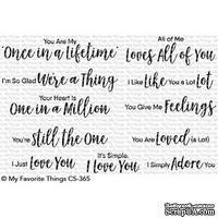 Акриловый штамп My Favorite Things - Sweet Nothings