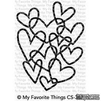 Акриловый штамп My Favorite Things - Hearts Entwined